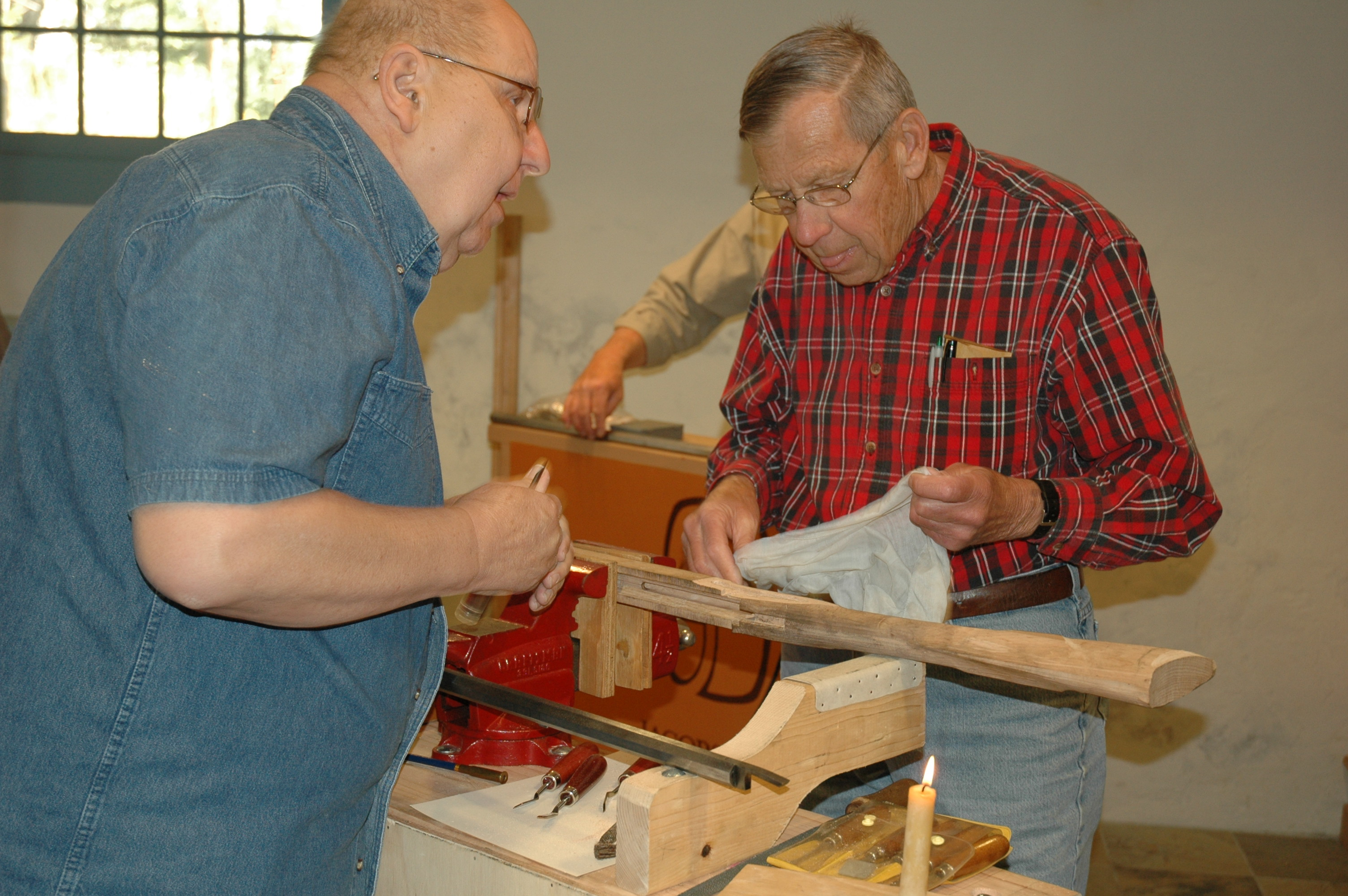 Building a pennsylvania longrifle jacobsburg historical for How long to build a house
