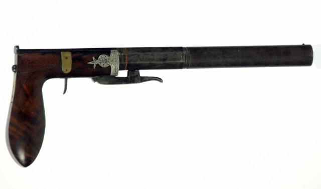 Underhammer Pistol